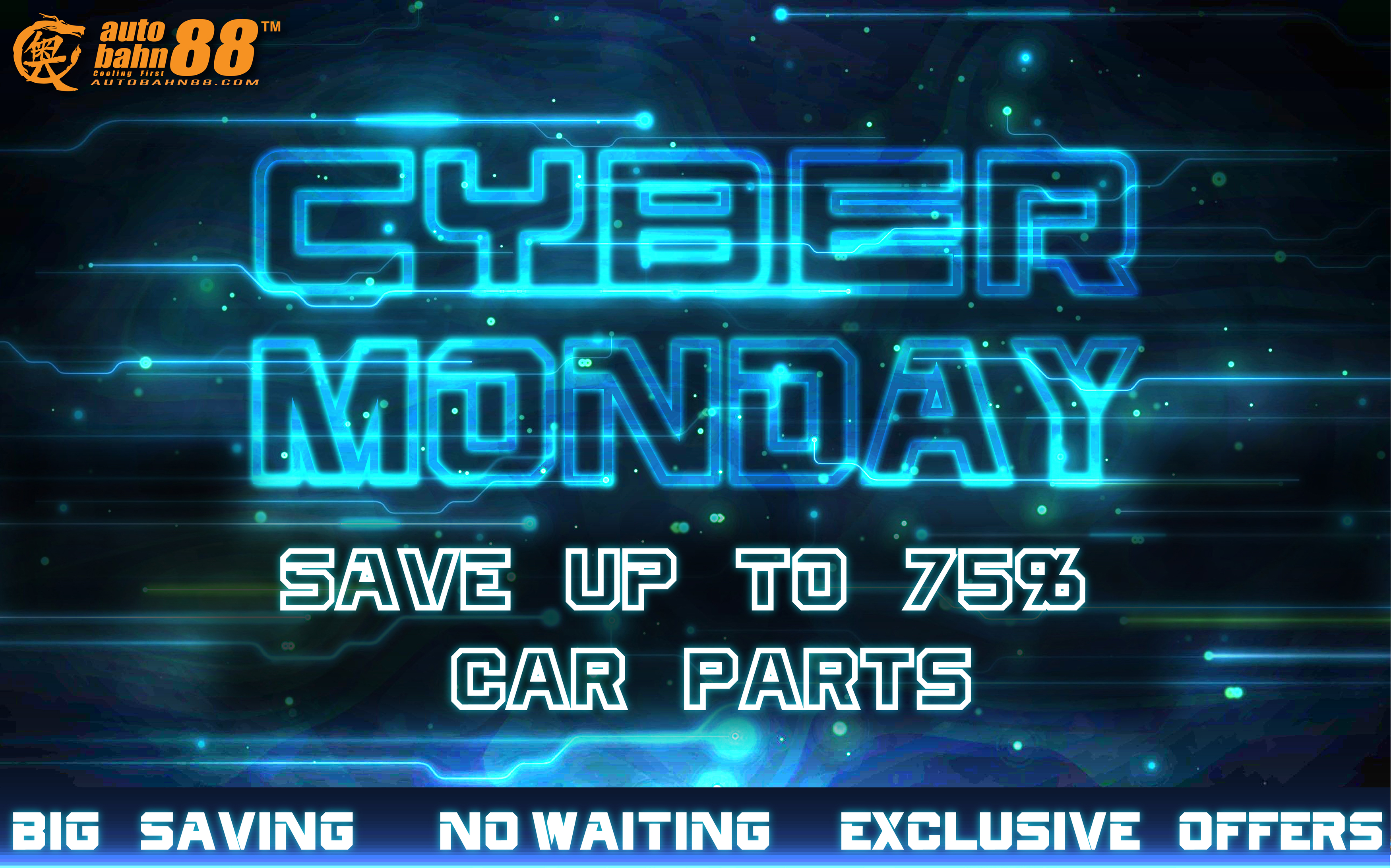 cyber monday deals week starts today autobahn88 auto performance product news blog. Black Bedroom Furniture Sets. Home Design Ideas