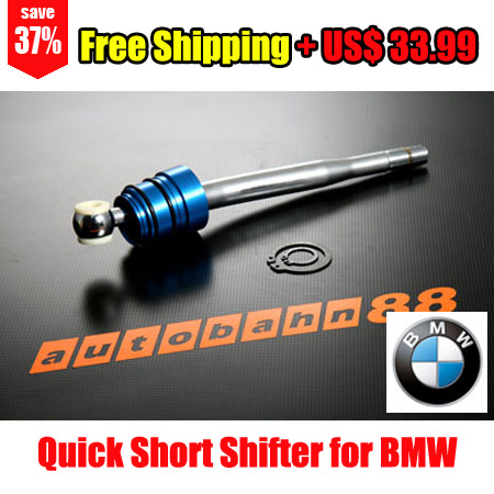 Quick Short Shifter For BMW E30 E36 E39 E46 M3 M5 3-Series 5-Series - Free Shipping - Autobahn88.com CAPP033