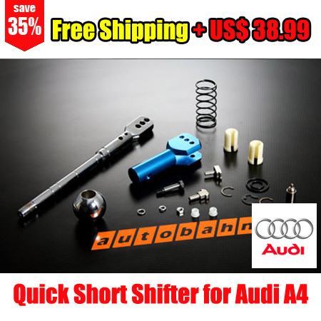 Quick Short Shifter For Audi A4 B5 96-01 - Free Shipping - Autobahn88.com CAPP040