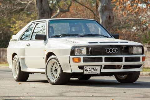 Audi Sport Quattro - Ten of the Best Rally Cars