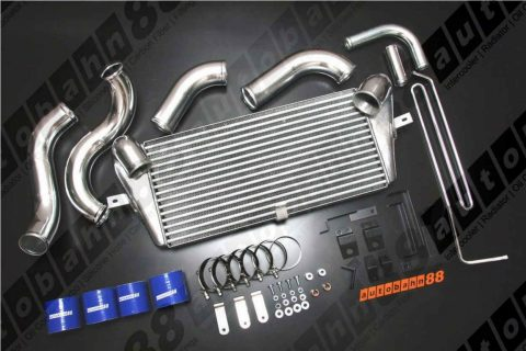 Autobahn88 Intercooler Front mount complete kit for Mazda RX7 FD3S 13B W/ 600x300x76mm core - CARP039