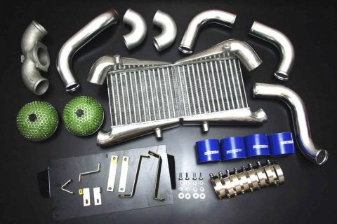 Autobahn88 Intercooler complete kit for Nissan Fairlady Z32 300ZX VG30DETT 89.7-93.8 - CARP034